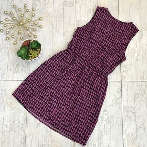 BeBop Dresses - 🎆Bebop purple & black retro mod print dress large